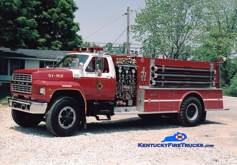 <center> Sandy Hook  Tanker 1 <br> 1983 Ford F-800/Middlesex 1000/1250 <br> Greg Stapleton photo <br> </center>