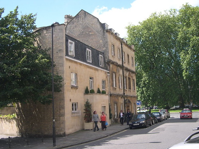 The Bath House B&B in Bath, England.