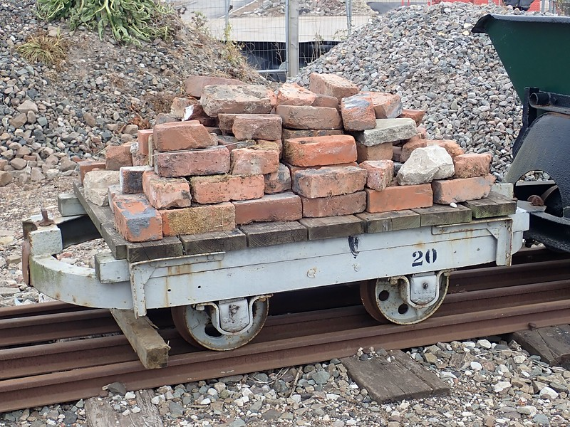 Just the wagon for a load of bricks