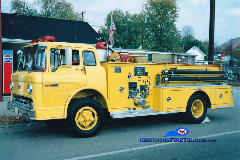 RETIRED <br /> Ravenna Engine 5 <br /> 1969 Ford C-850/Pirsch 1000/500 <br /> Greg Stapleton photo
