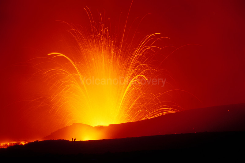 Strombolian eruption of Bocca Nuova