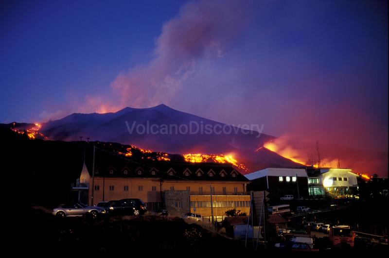 Lava flows at La Sapienza