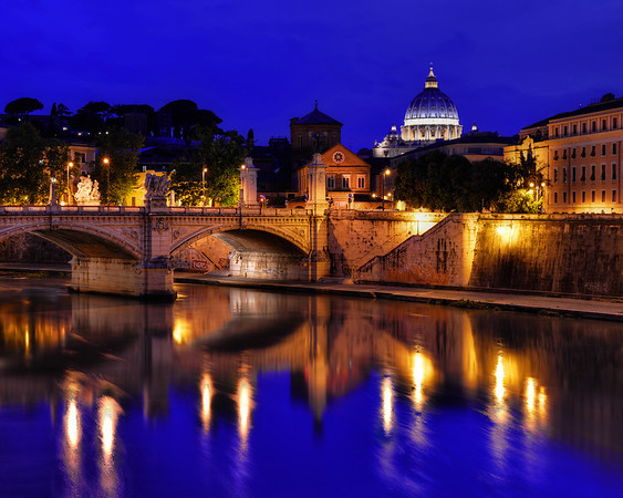 Tiber River and Vatican