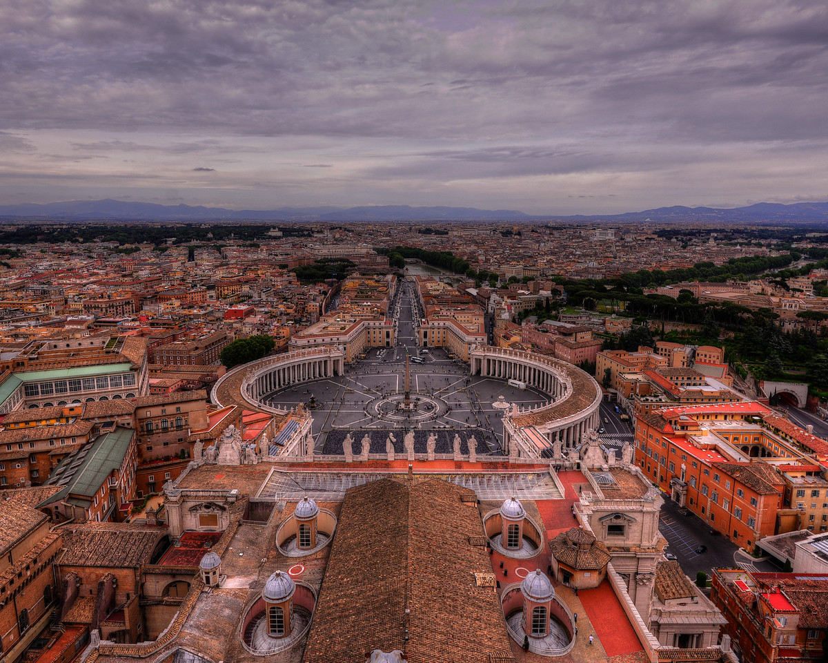 Rome from Vatican Dome