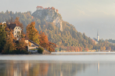 Autumn at Lake Bled