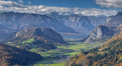 Through the Valley to Bohinj