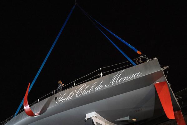 06 04 2019, Malizia´s launch Lorient.