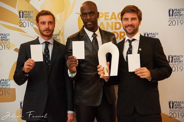 12 Dec 2019, Peace and Sport Awards