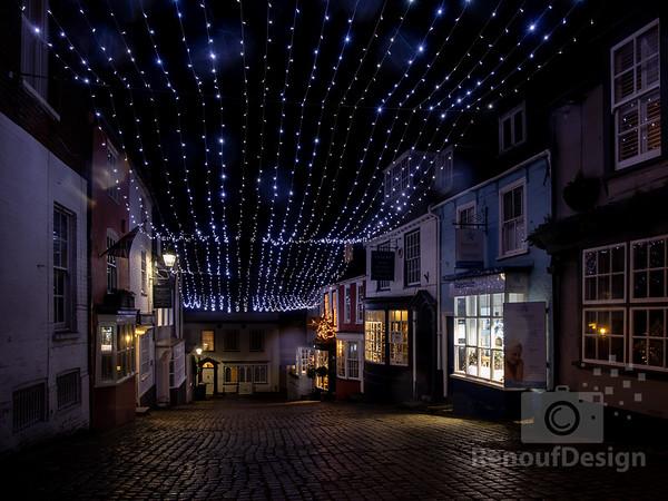 Christmas in Lymington and Pennington