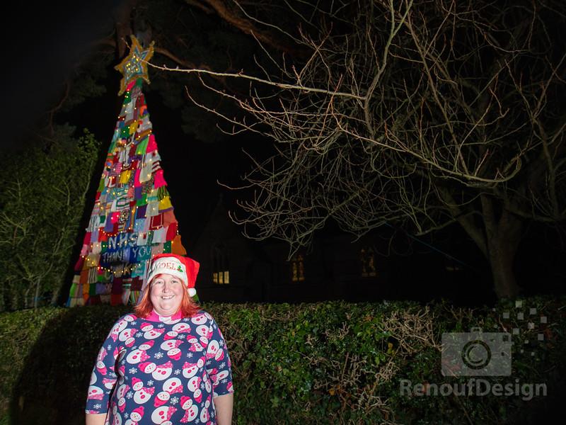 Pennington knitted Christmas Tree