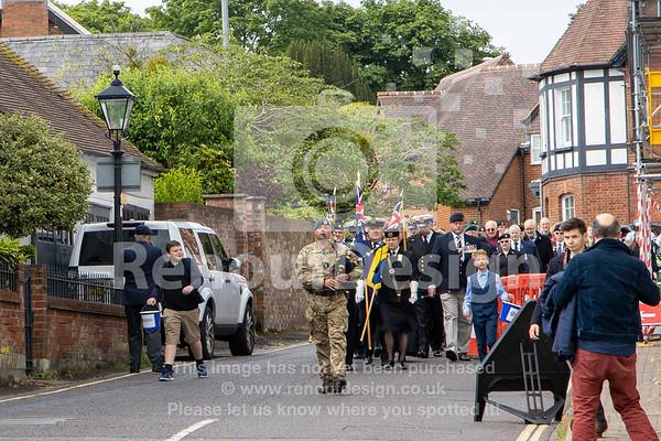 018 -D-Day 75 Lymington