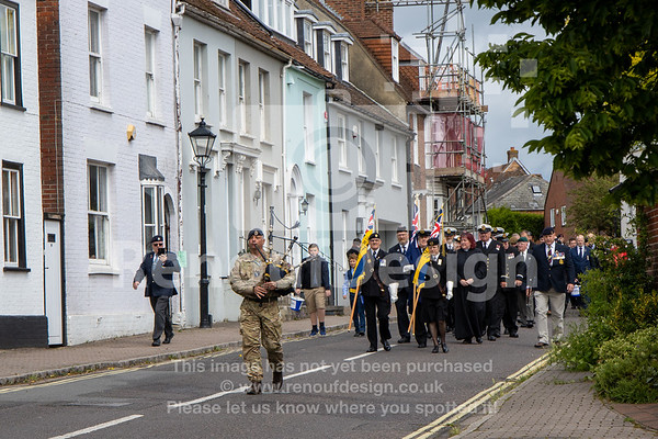 016 -D-Day 75 Lymington