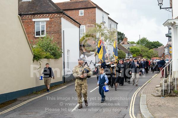 019 -D-Day 75 Lymington