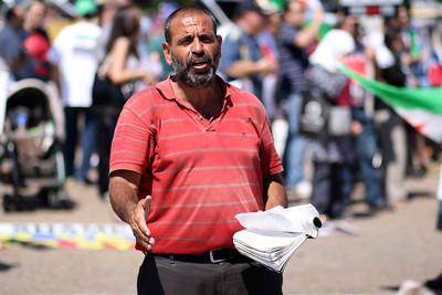 "Demostrators in Washington ""Syria"""