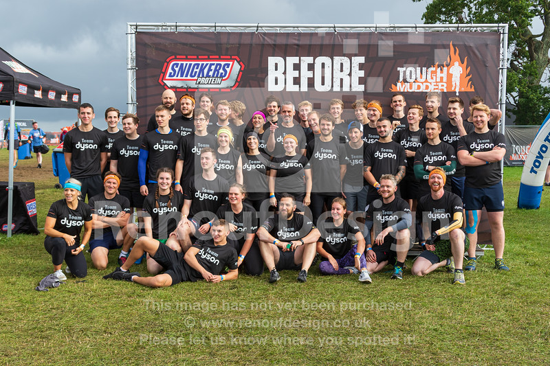 013 - Team Dyson Tough Mudder