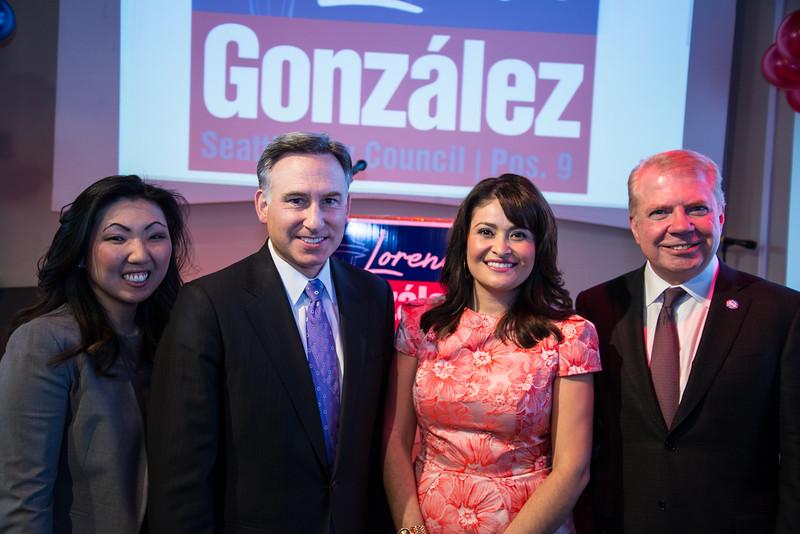 Lorena Gonzalez Campaign Kick Off