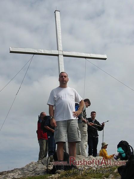 Keith at Bschieser summit.