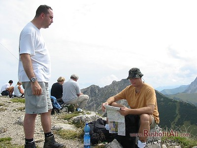 Phil and Keith at Bschieser summit.