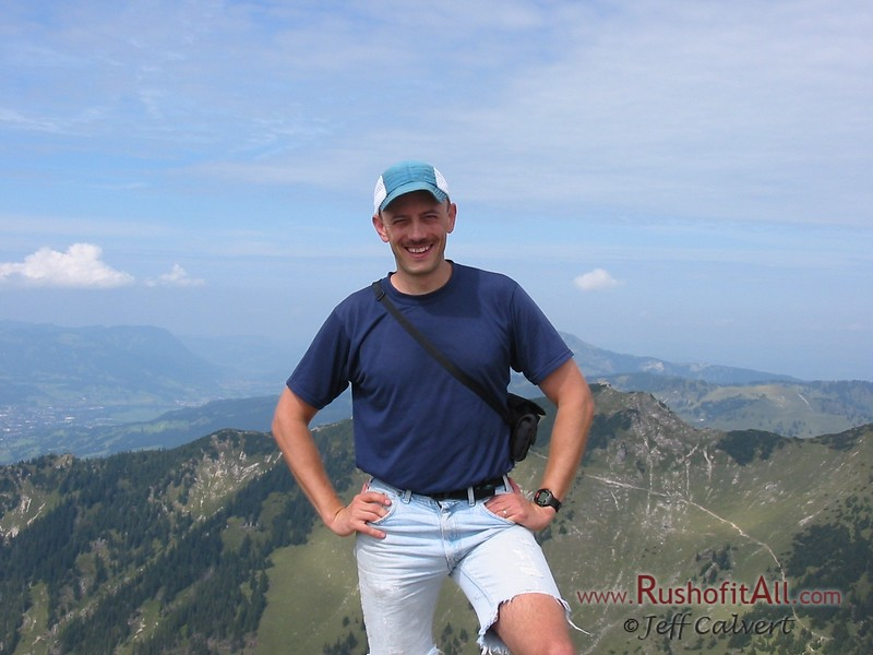 Me at Bschieser summit.