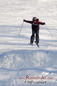 Lucas skiing at Tussey Mt.