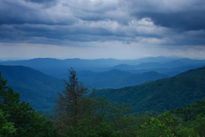 Taken somewhere along the Blue Ridge Parkway in North Carolina