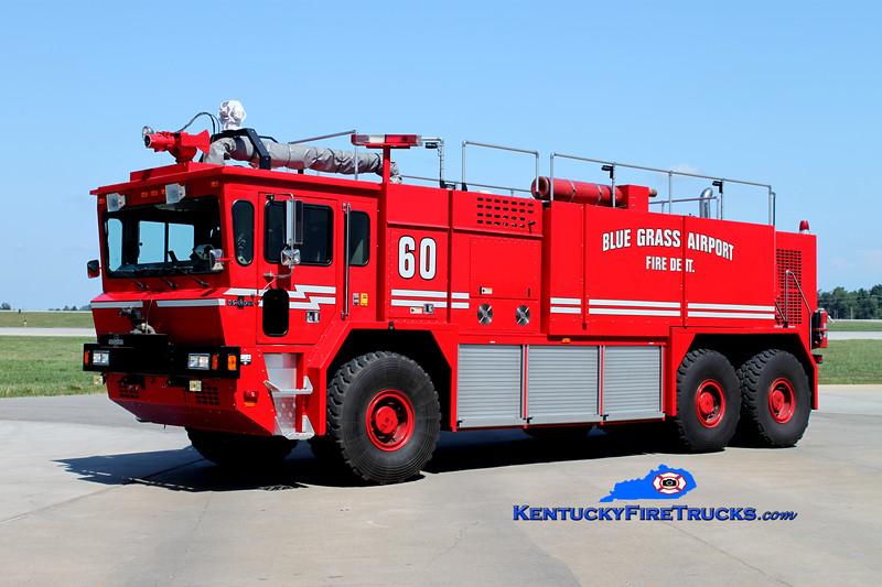 <center> Bluegrass Airport Crash 60 <BR> 1999 Oshkosh T-3000 1250/3000/400F/500DC <BR> Kent Parrish photo <BR> </center>