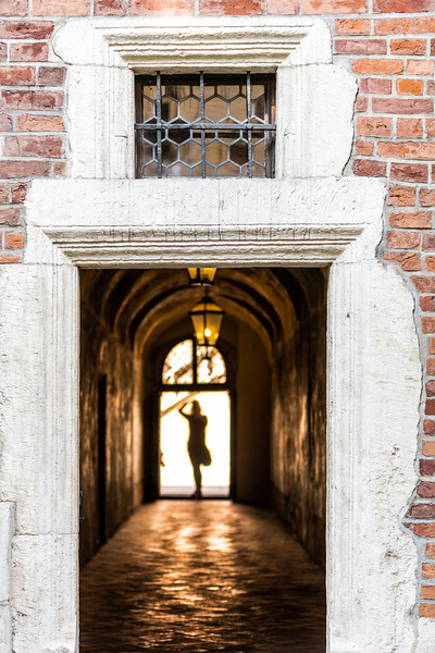 The alleys surrounding Krakow's Jagiellonian University are woven into a warren of historic courtyards and archways.