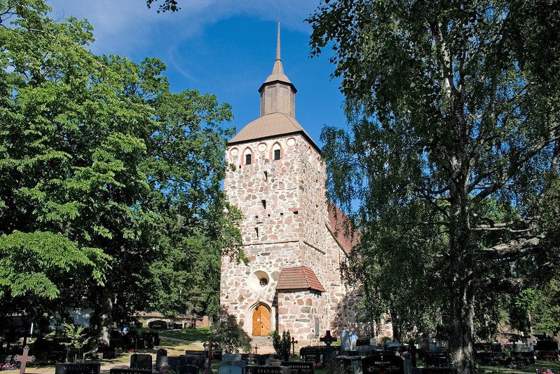 Korppoo church, Parainen, Finland