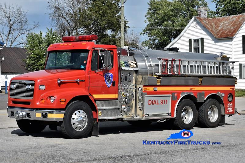 Ewing  Tanker 755<br /> x-Blue Ridge Mt, WV & Neersville, VA<br /> 2000 Freightliner FL112-S&S 750/3000<br /> Greg Stapleton photo