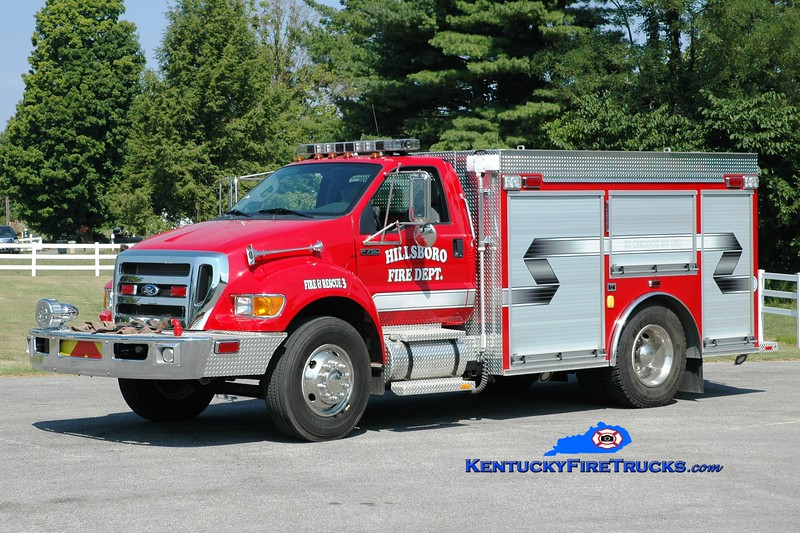 <center> Flemingsburg  Engine 453  <br> 2014 Ford F-750/Southeast 750/750 <br> Greg Stapleton photo </center>