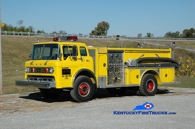 Tilton  Engine 551<br /> x-Wurtland, KY<br /> 1977 Ford C800/E-One 1000/750<br /> Greg Stapleton photo