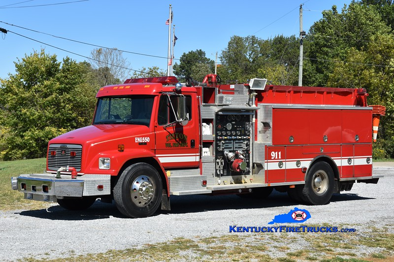 Tilton Engine 550<br /> x-Liberty Twp, MI<br /> 1999 Freightliner FL80/Wolverine 1250/1250<br /> Greg Stapleton photo