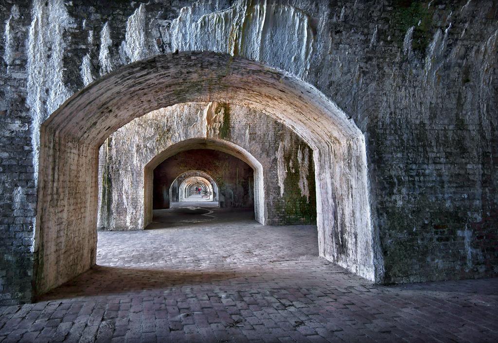 Nine portals to nowhere.