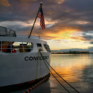 U.S. Coast Guard Cutter Confidence