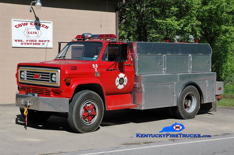 Cow Creek  Tanker 2<br /> 1978 Chevy C65/Reynolds 250/1500<br /> Greg Stapleton photo