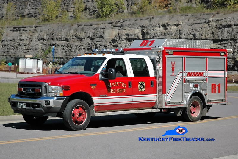 Martin  Rescue 1<br /> 2002 Ford F-550/EVI<br /> Greg Stapleton photo