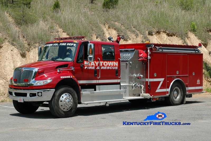 <center> Maytown Engine 2 <br> 2011 International 4400/KME 1250/1000 <br> Greg Stapleton photo </center>
