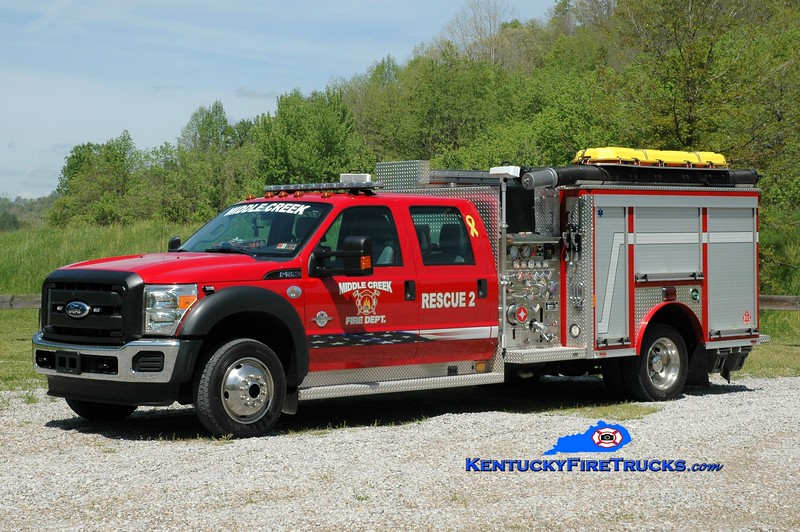 Middle Creek  Rescue 2<br /> 2011 Ford F-550/Rosenbauer 1250/300<br /> Greg Stapleton photo