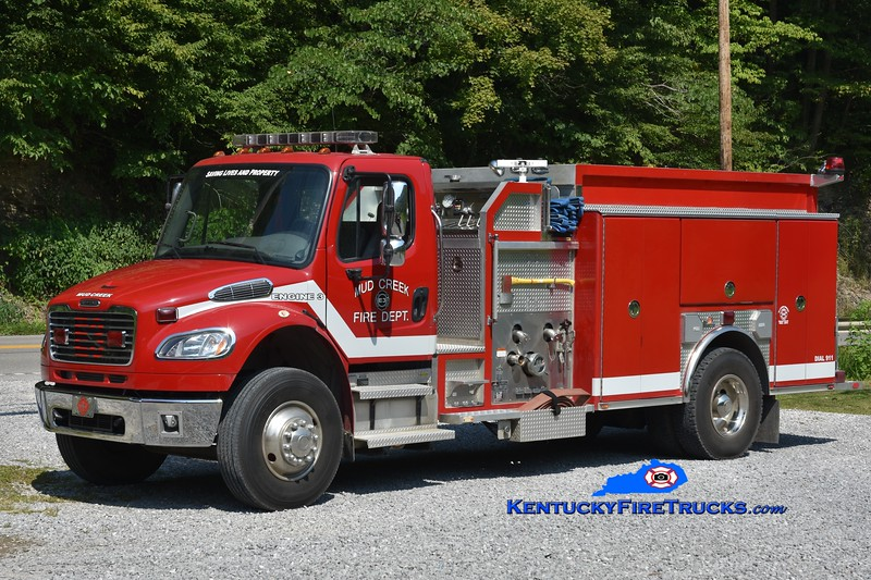 Mud Creek  Engine 3<br /> 2009 Freightliner M2-106/Ferrara 1250/1375<br /> Greg Stapleton photo