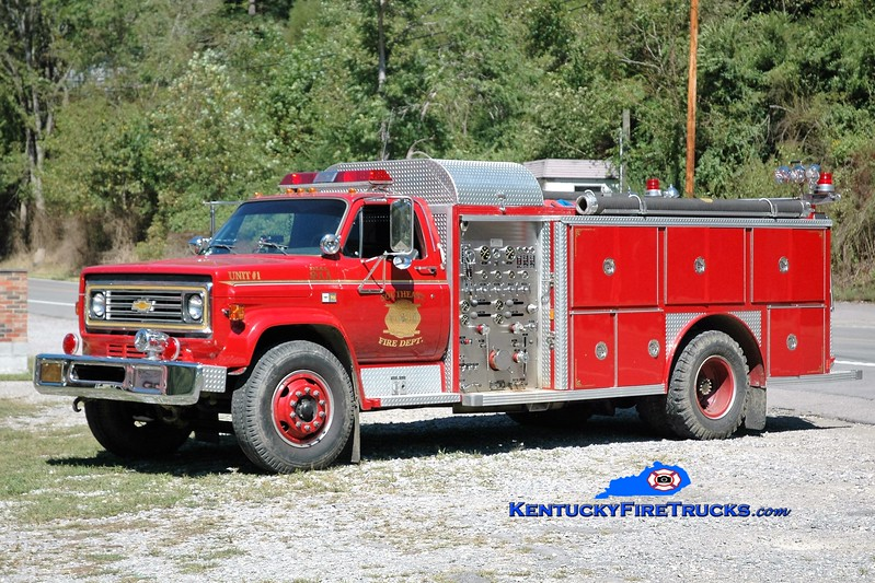 Southeast Floyd  Engine 1<br /> 1983 Chevy C70/E-One 1000/1000<br /> Greg Stapleton photo