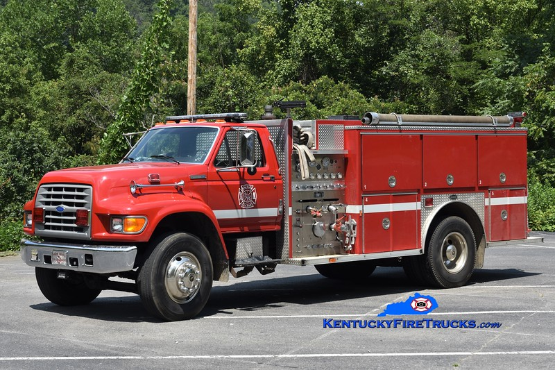 Toler Creek  Engine 1<br /> 1996 Ford F-750/E-One 1250/1000<br /> Greg Stapleton photo