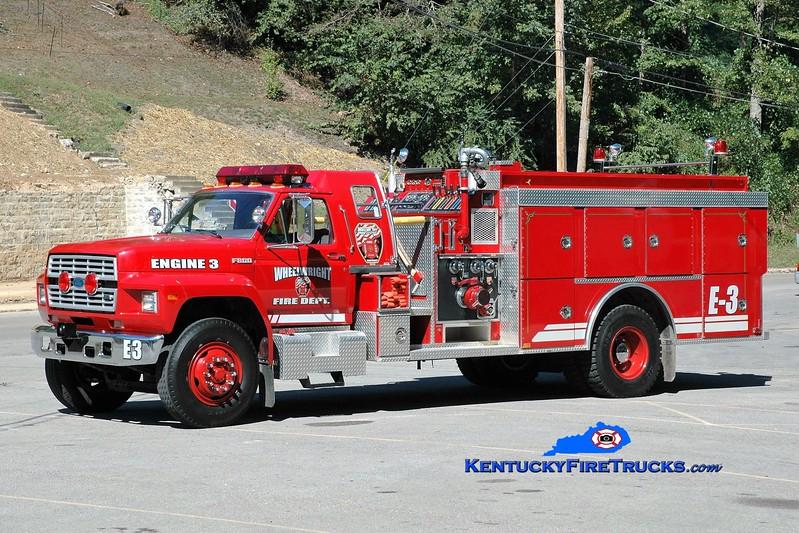 Wheelwright  Engine 3<br /> x-Dearborn, MO<br /> 1991 Ford F-800/SMeal 1000/1000<br /> Greg Stapleton photo