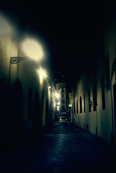 In an Alley at 3 A.M.