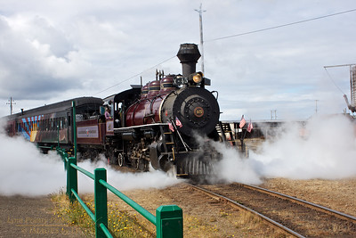 FB-120623-0002 No. 45 Leaving the Station