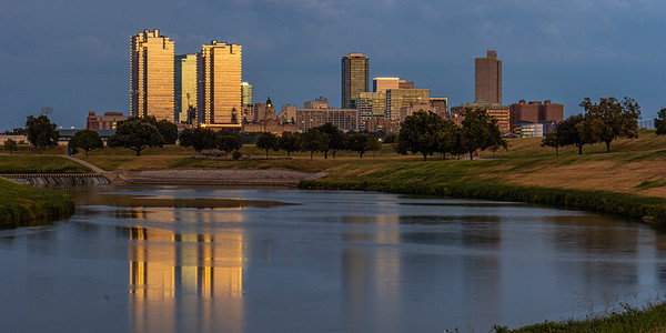 Fort Worth and Trinity River
