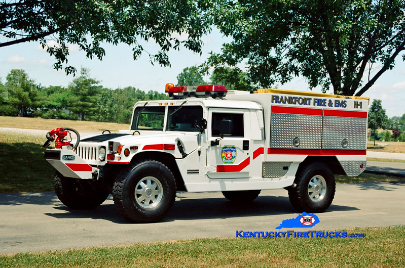 <center> RETIRED <br> Frankfort  Hummer 1  <br> 2004 AM General Hummer 4x4/Danko 150/200/50 <br> Kent Parrish photo </center>