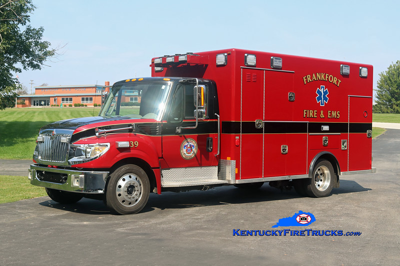 Frankfort  Medic 39<br /> 2015 International TerraStar/Excellance<br /> Kent Parrish photo