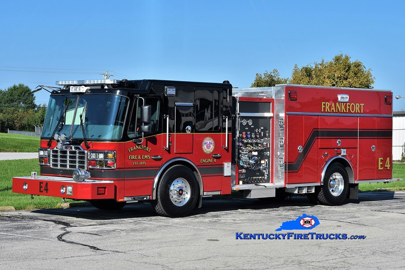 Frankfort  Engine 4<br /> 2018 Ferrara Cinder 1500/750/30<br /> Greg Stapleton photo