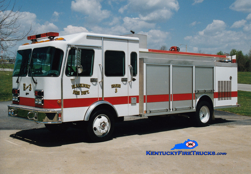 <center> RETIRED <br> Frankfort  Engine 3 <br> 1995 Spartan GT-One/Central States 1250/700 <br> Greg Stapleton photo </center>