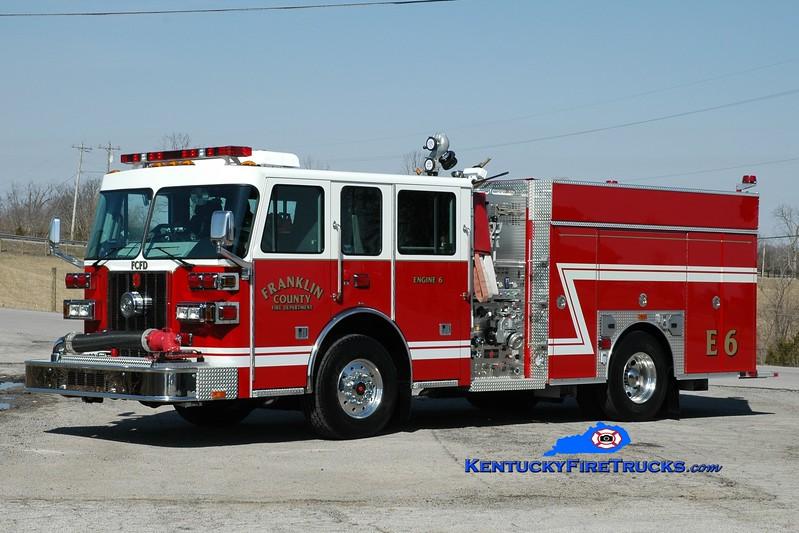 <center> Franklin County  Engine 6 <br> 2013 Sutphen Shield 1500/1000/30 <br> Greg Stapleton photo </center>